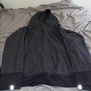 Very warm work-out hoodie